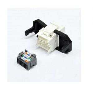 CORNING Tooless RJ45 K5E CAT5E White UTP Jack