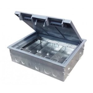 CM1 - 3 compartment floorbox