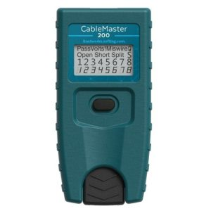 CableMaster 200 - Compact and economical cable tester