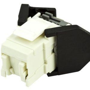 Corning Tooless RJ45 K6 CAT6 White UTP Jack