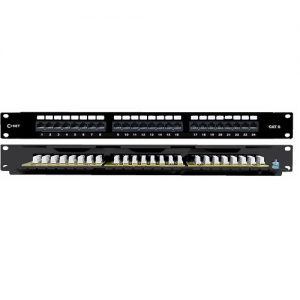 C-NET UTP CAT6 24PORT PCB PATCH PANEL