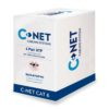 C-NET CAT6 UTP COPPER CABLE 24 AWG PVC ICE BLUE 305M BOX