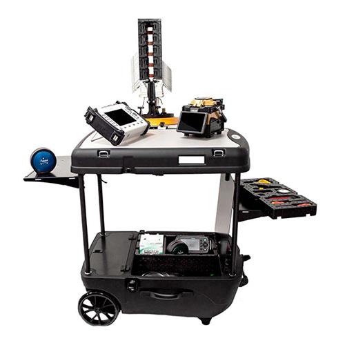 Un1co Fibre Optic mobile case and work bench
