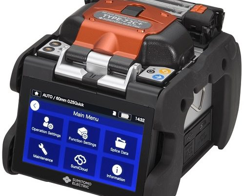 Sumitomo T-72C+ High-Definition Core-Aligning Fusion Splicer